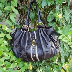 JUICY Couture GENUINE black leather